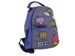 Сумка - рюкзак Yes Weekend 555178 синий
