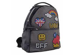 Сумка - рюкзак Yes Weekend 555176 черный