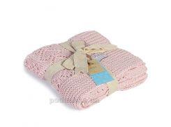 Плед детский хлопковый Betires Kitten Pink 90х90 см