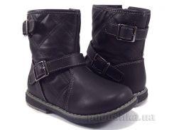 Ботинки для девочки Apawwa H559 black 30