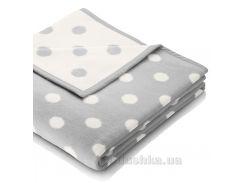 Плед детский Billerbeck Lovely & Sweet Dots silver 706607 75х100 см