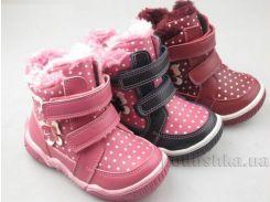 Ботинки для девочки Apawwa H71 navy 25