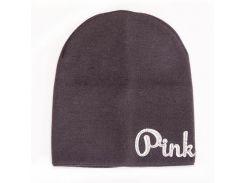 Шапка для девочки Pink Аlex Д291 цвет асфальт