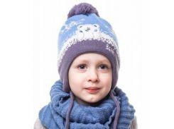 Шапка для мальчика Умка Аlex Д246 цвет серый