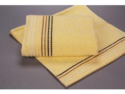Полотенце махровое микрохлопок Yanatex Б435 желтый 50х90 см плотность 420 г/м2