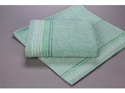 Полотенце махровое микрохлопок Yanatex Б435 зеленый 70х130 см плотность 450 г/м2