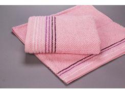 Полотенце махровое микрохлопок Yanatex Б435 розовый 50х90 см плотность 420 г/м2
