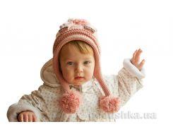 Шапка детская трикотажная Bilamila 17-202 цвет розовый