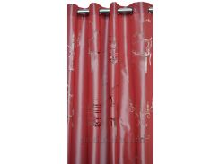 Штора Etoffes Mobilia prune высота - 280 см, ширина - 140 см