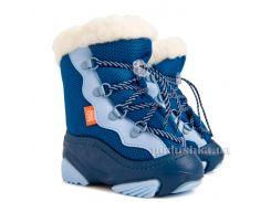 Дутики детские ТМ Demar Snow Mar голубой 28-29