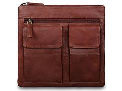 Кожаная наплечная сумка Visconti 18608 A brown