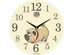 Часы настенные ЮТА Vintage 330x330x30мм 012 DS