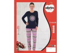 Женский домашний костюм Sabrina Sab 41418 4XL