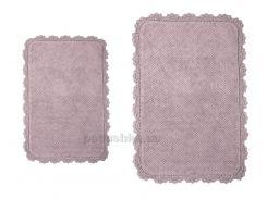 Набор ковриков в ванную Irya Serra lila