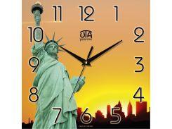 Часы настенные ЮТА Панорама 300x300x16мм T - 014
