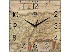 Часы настенные ЮТА Панорама 300x300x16мм OF - 010