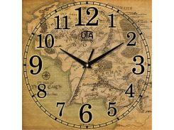 Часы настенные ЮТА Панорама 300x300x16мм OF - 011