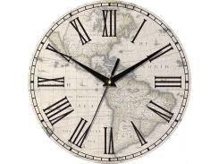 Часы настенные ЮТА Country 301x301x30мм С06