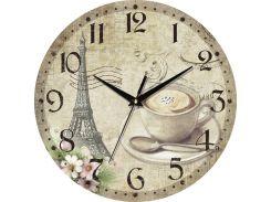Часы настенные ЮТА Country 301x301x30мм С07