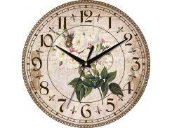 Часы настенные ЮТА Country 301x301x30мм С08