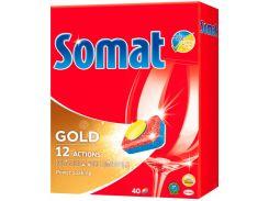 Таблетки для посудомоечной машины Somat Gold 40 шт 9000101067224