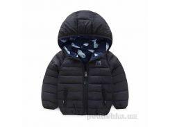 Куртка демисезонная для мальчика Murmur Bear 181007 черная размер 90