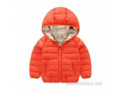 Куртка демисезонная для девочки Murmur Bear 181007 оранжевая 110