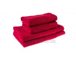 Махровое полотенце Terry Lux Эконом 400 бордовое 70х140 см