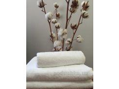 Махровое полотенце Nostra 420 белое 50х70 см