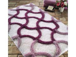 Коврик для ванной Confetti Elite Hermos фиолетовый размер 55x60