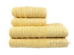 Полотенце махровое Hobby Daisy желтое 50х90 см
