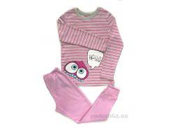 Комплект для девочки Bembi КП199 рибана розовый 128