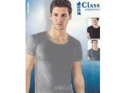 Мужская футболка Top Classic Underwear серая B-051 L