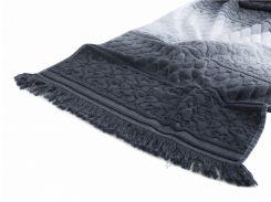 Полотенце махровое Arya Kors Degrade серое 70х140 см