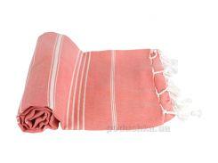 Полотенце пляжное LightHouse Cross Peshtemal розовое №69 97х176 см