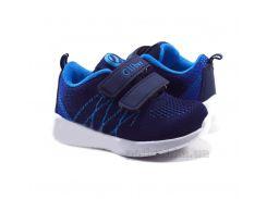 Кроссовки детские Clibee K210mix blue-l.blue 21