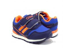 Кроссовки детские Clibee F632 mix d.blue-orange 22