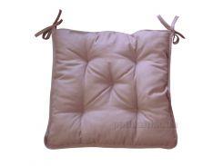 Подушка на стул Прованс Какао 40х40 см