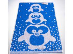 Полотенце махровое жаккард Yanatex пингвин 30х50 см