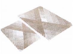 Набор ковриков в ванную Irya Wall Kahve