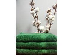 Полотенце махровое Roma Dream 550 Lux темно зеленый 70х140 см