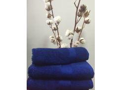 Полотенце махровое Roma Dream 550 Lux темно синий 70х140 см
