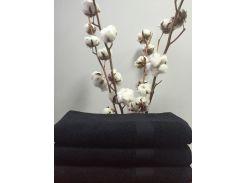 Полотенце махровое Roma Dream 550 Lux черный 50х100 см