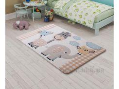 Коврик в детскую комнату Confetti Animal Kingdom Beige