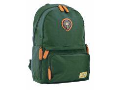 Рюкзак молодежный Yes Oxford 342 555754 зеленый