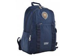Рюкзак молодежный Yes Oxford 348 555600 синий