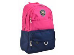 Рюкзак молодежный Yes Oxford 355 555630 розово-синий
