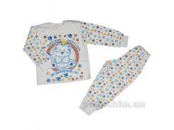 Пижама для мальчика теплая Витуся 1002016 80