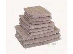Махровое полотенце Terry Lux Style 500 gris светло-серый 50х90 см