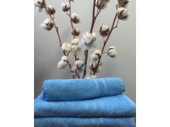 Полотенце махровое Roma Dream 420 Solo голубой 30х30 см